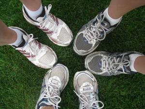 marathon mama's feet